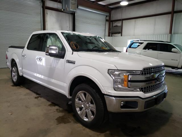 Salvage cars for sale from Copart Lufkin, TX: 2020 Ford F150 Super