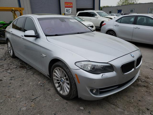 Salvage cars for sale from Copart Duryea, PA: 2011 BMW 535 XI
