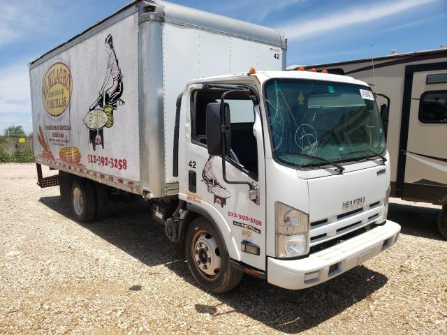 Salvage cars for sale from Copart San Antonio, TX: 2015 Isuzu NPR HD