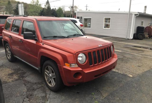 Jeep salvage cars for sale: 2008 Jeep Patriot SP