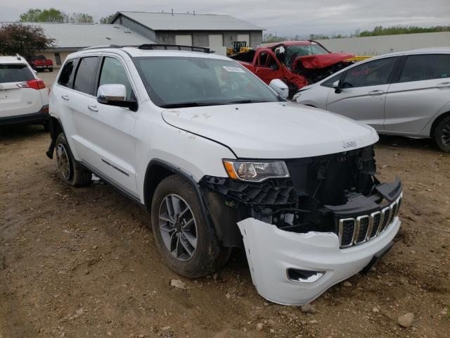 Salvage cars for sale from Copart Madison, WI: 2020 Jeep Grand Cherokee