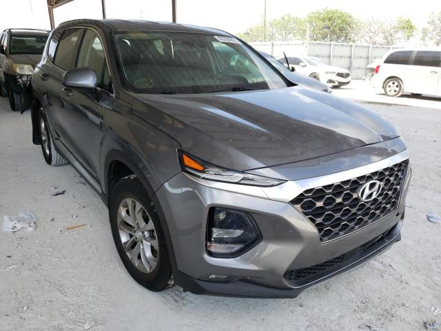 Salvage cars for sale from Copart Homestead, FL: 2019 Hyundai Santa FE S