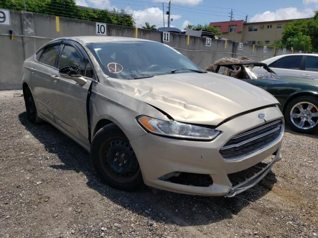 Salvage cars for sale from Copart Opa Locka, FL: 2016 Ford Fusion SE