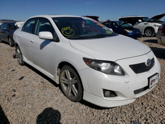 Salvage cars for sale from Copart Magna, UT: 2009 Toyota Corolla XR