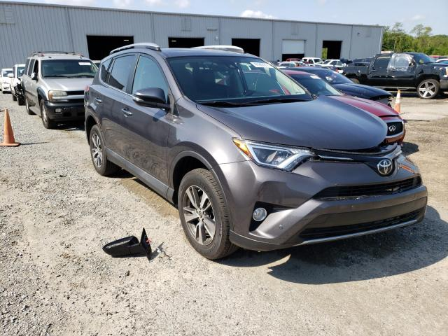 Salvage cars for sale from Copart Jacksonville, FL: 2018 Toyota Rav4 Adven