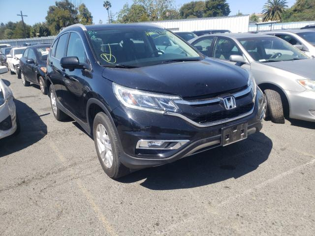 Salvage cars for sale from Copart Vallejo, CA: 2016 Honda CR-V EXL