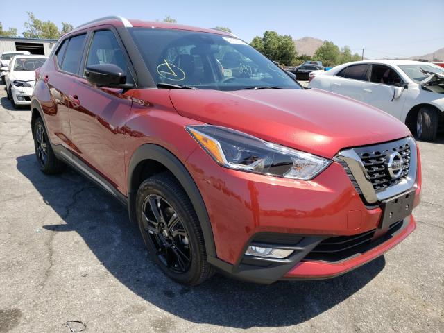 Nissan salvage cars for sale: 2020 Nissan Kicks SR