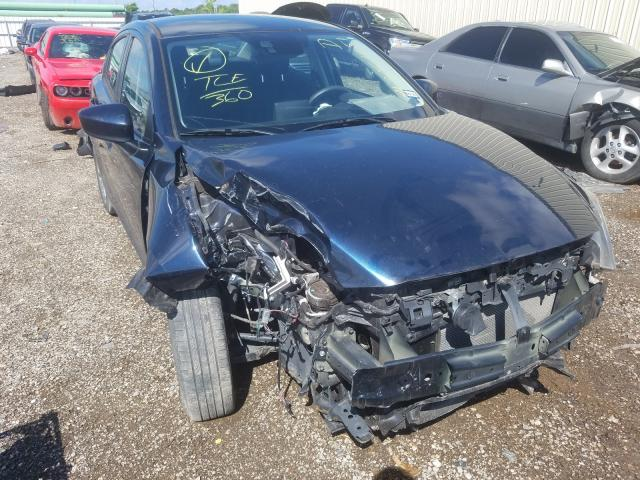 Salvage cars for sale from Copart Houston, TX: 2018 Toyota Yaris IA