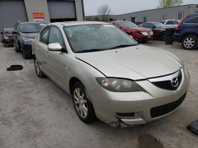 Salvage cars for sale from Copart Duryea, PA: 2008 Mazda 3 I