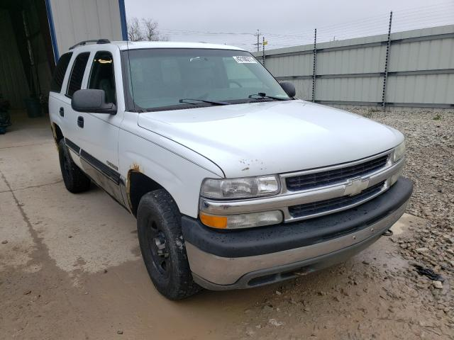 Salvage cars for sale from Copart Appleton, WI: 2003 Chevrolet Tahoe K150