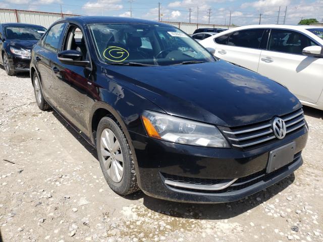 Salvage cars for sale from Copart Haslet, TX: 2015 Volkswagen Passat S
