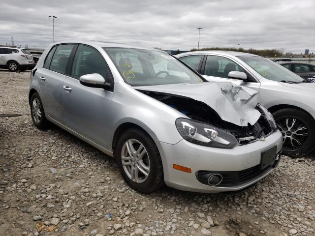 Salvage cars for sale from Copart Appleton, WI: 2012 Volkswagen Golf