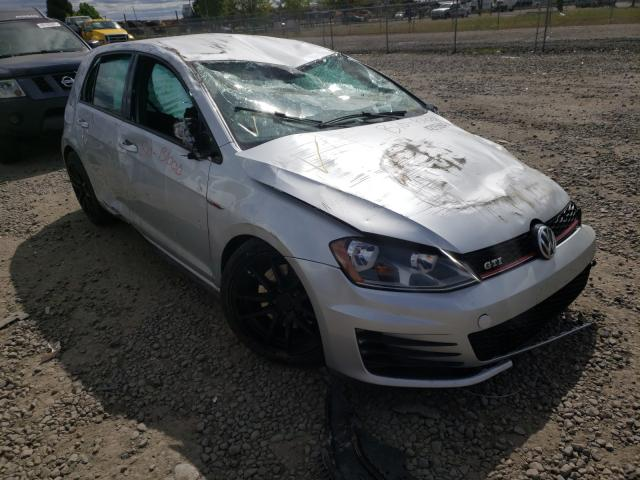 Salvage cars for sale from Copart Eugene, OR: 2016 Volkswagen GTI S/SE