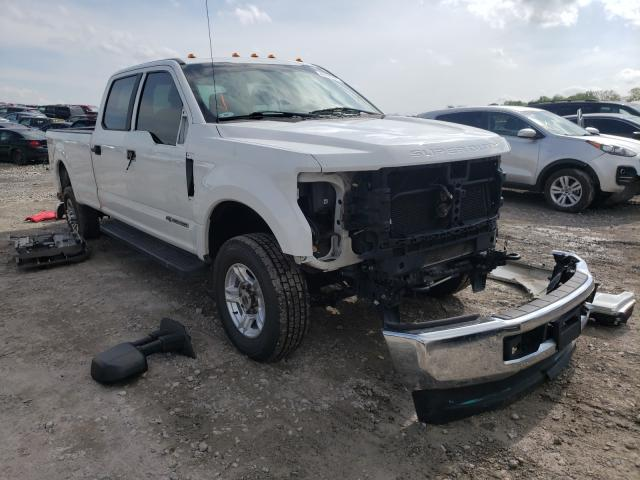 Salvage cars for sale from Copart Madisonville, TN: 2017 Ford F350 Super