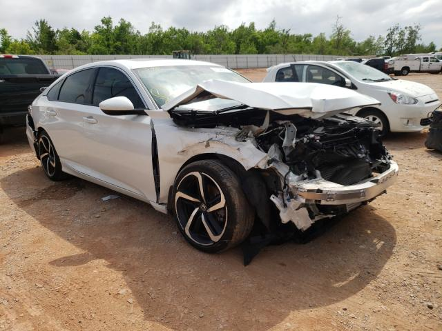 Salvage cars for sale from Copart Oklahoma City, OK: 2019 Honda Accord Sport