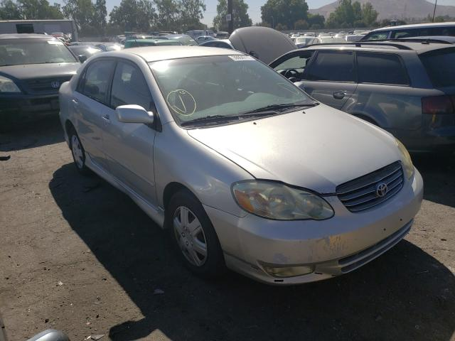 Salvage cars for sale from Copart Colton, CA: 2004 Toyota Corolla CE