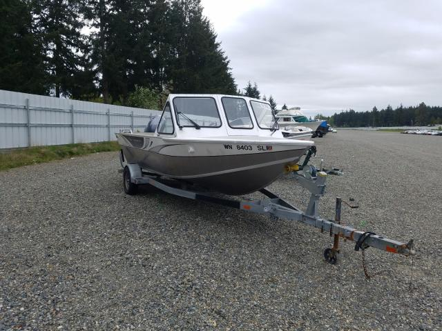 Salvage boats for sale at Graham, WA auction: 2017 EZX Boat