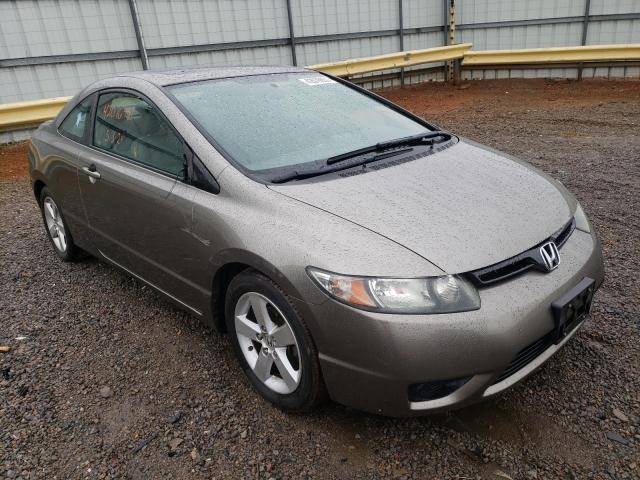 Salvage cars for sale from Copart Chatham, VA: 2008 Honda Civic EXL
