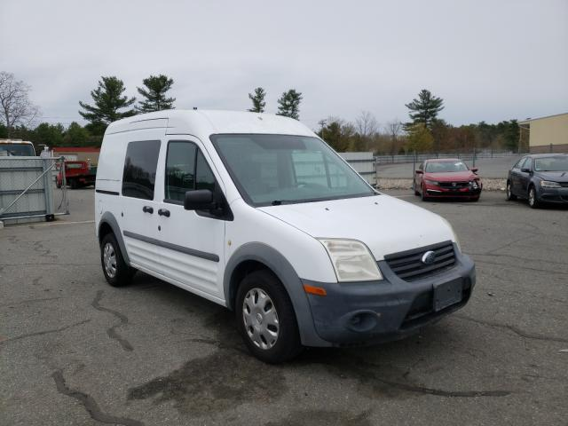 Salvage cars for sale from Copart Exeter, RI: 2011 Ford Transit CO