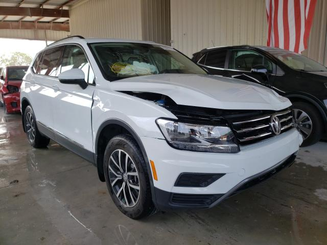 Salvage cars for sale from Copart Homestead, FL: 2021 Volkswagen Tiguan SE