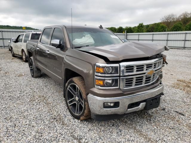 Salvage cars for sale from Copart Prairie Grove, AR: 2015 Chevrolet Silverado