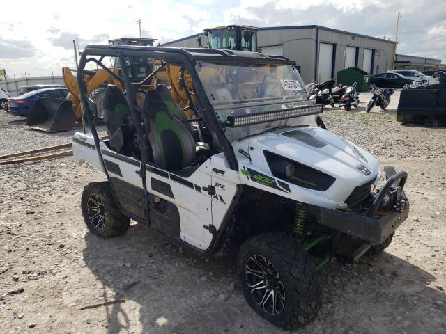 Salvage cars for sale from Copart Alorton, IL: 2015 Kawasaki KRT800 C