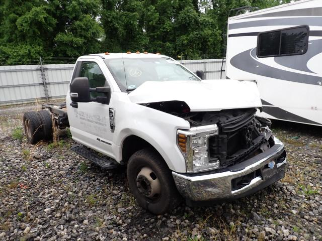 Salvage cars for sale from Copart Spartanburg, SC: 2018 Ford F350 Super