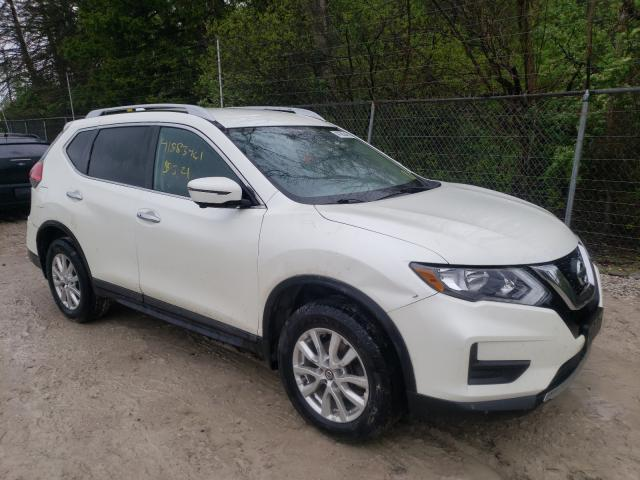 Salvage cars for sale from Copart Northfield, OH: 2017 Nissan Rogue