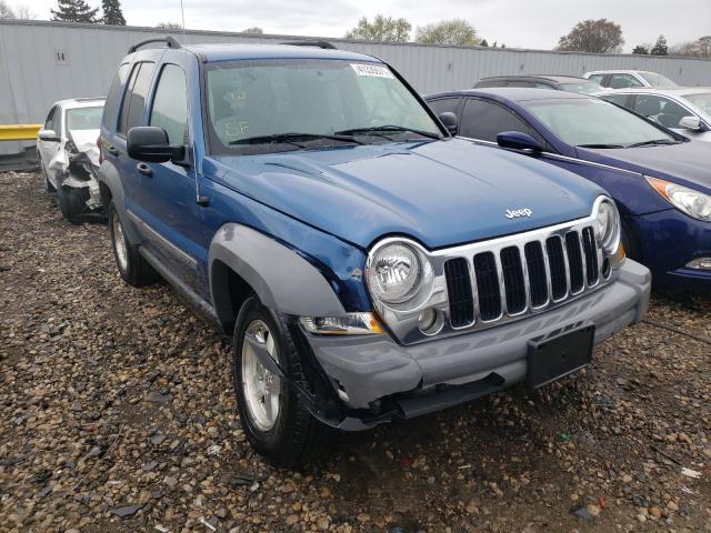 Vehiculos salvage en venta de Copart Cudahy, WI: 2005 Jeep Liberty SP