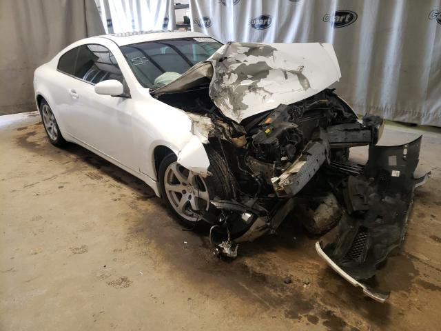 Salvage cars for sale from Copart Tifton, GA: 2006 Infiniti G35