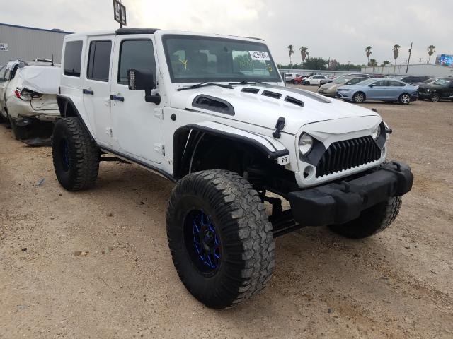 Salvage cars for sale from Copart Mercedes, TX: 2015 Jeep Wrangler U