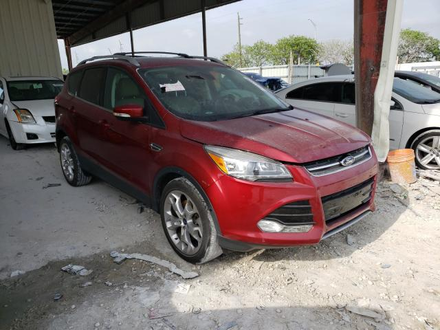 Salvage cars for sale from Copart Homestead, FL: 2014 Ford Escape Titanium