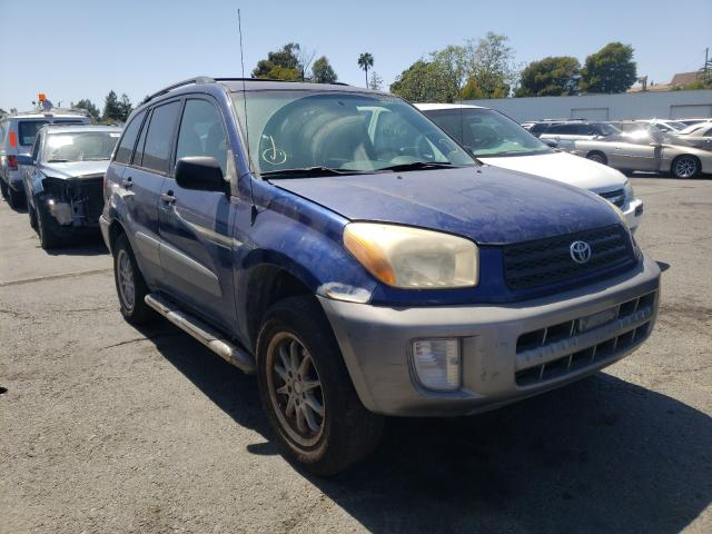 Salvage cars for sale from Copart Vallejo, CA: 2002 Toyota Rav4