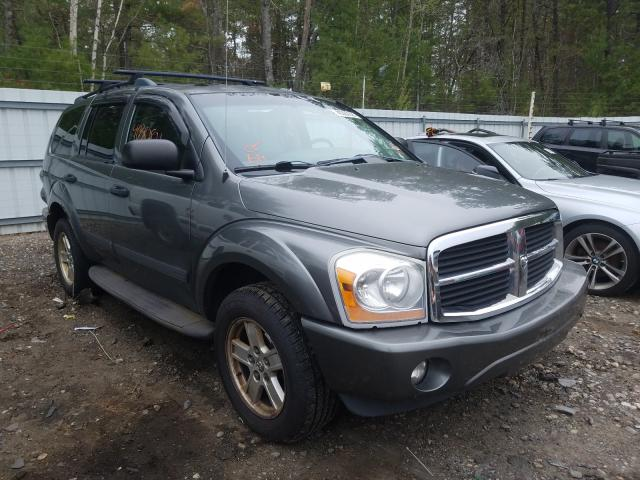 Salvage cars for sale from Copart Lyman, ME: 2006 Dodge Durango
