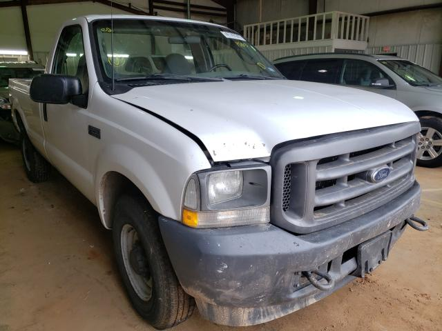 Salvage trucks for sale at Longview, TX auction: 2003 Ford F250 Super