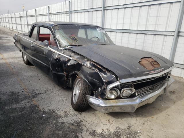 Chevrolet Biscayne salvage cars for sale: 1963 Chevrolet Biscayne