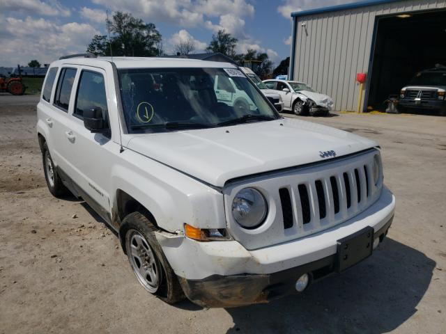 Salvage cars for sale from Copart Sikeston, MO: 2016 Jeep Patriot SP