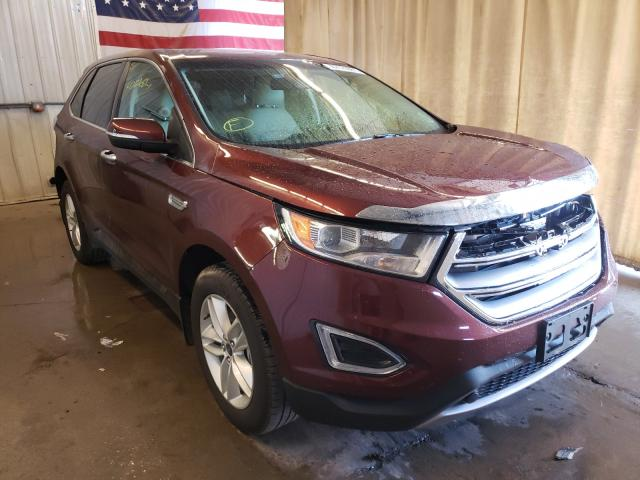 Salvage cars for sale from Copart Avon, MN: 2016 Ford Edge SEL