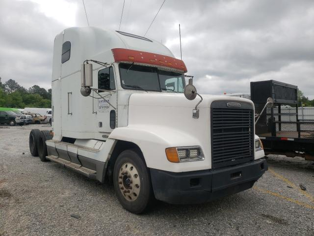 Freightliner salvage cars for sale: 2001 Freightliner Convention