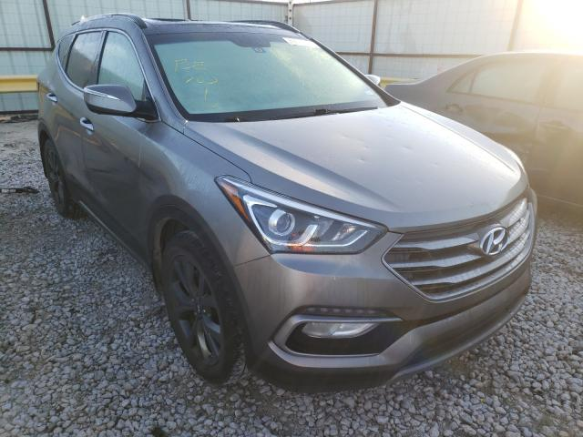Salvage cars for sale from Copart Haslet, TX: 2018 Hyundai Santa FE S