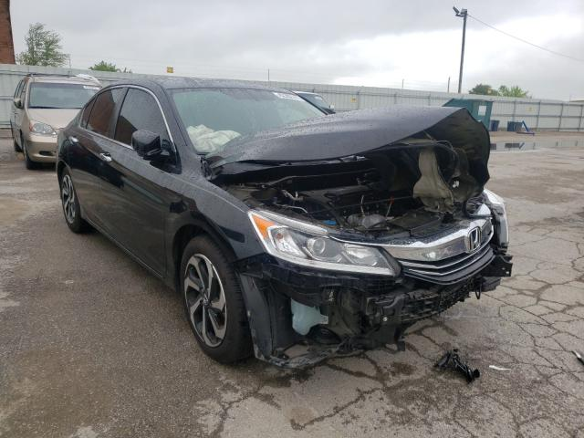 Salvage cars for sale from Copart Lexington, KY: 2017 Honda Accord EXL