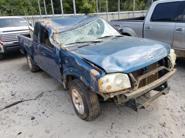 Salvage cars for sale from Copart Savannah, GA: 2004 Nissan Frontier K