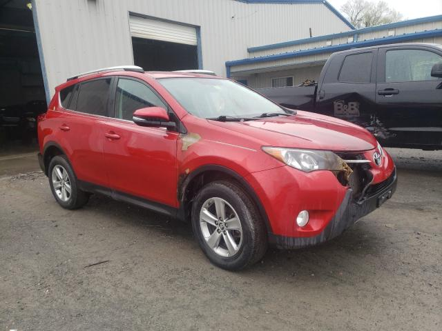 Salvage cars for sale from Copart Albany, NY: 2015 Toyota Rav4 XLE