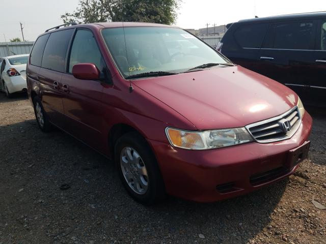 Salvage cars for sale from Copart Mercedes, TX: 2004 Honda Odyssey EX