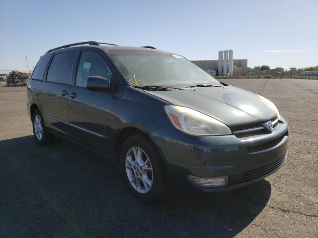 Salvage cars for sale from Copart Pasco, WA: 2005 Toyota Sienna XLE
