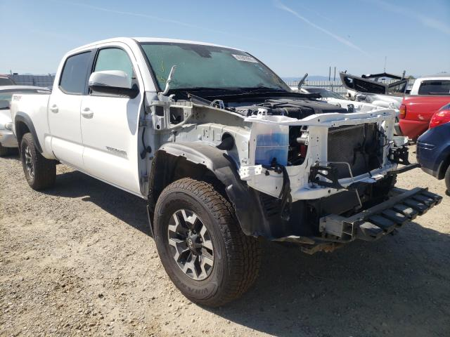 Salvage cars for sale from Copart Anderson, CA: 2020 Toyota Tacoma DOU