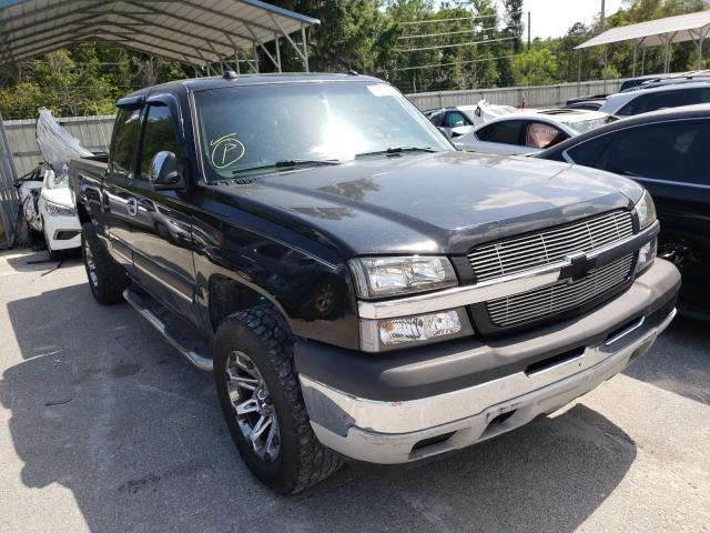 Salvage trucks for sale at Savannah, GA auction: 2005 Chevrolet Silverado