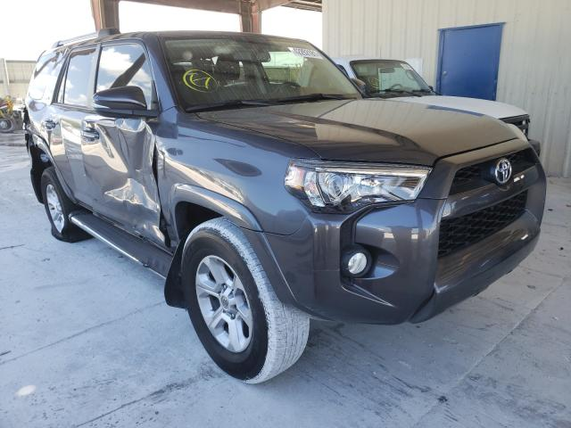 Salvage cars for sale from Copart Homestead, FL: 2019 Toyota 4runner SR