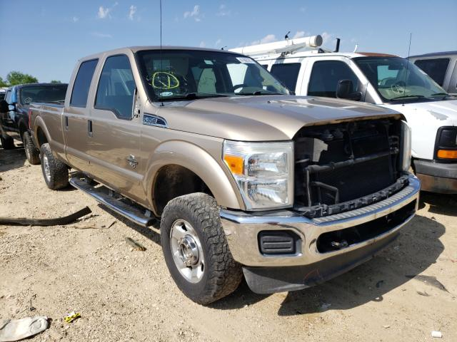 Salvage cars for sale from Copart San Antonio, TX: 2012 Ford F350 Super