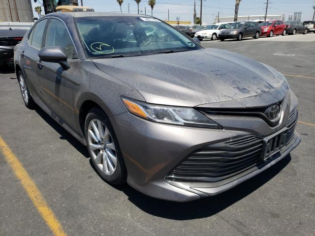 Salvage cars for sale from Copart Wilmington, CA: 2018 Toyota Camry L
